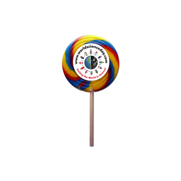 Picture of Branded Swirly Lollipop