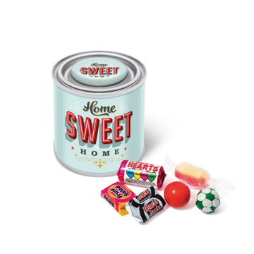 Retro Sweets in Small Branded Tin