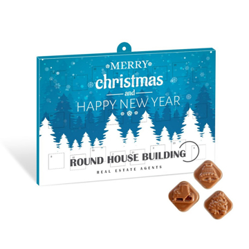 A corporate promotional advent calender