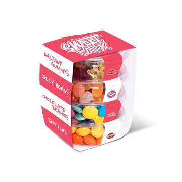 stacked pic 'n mix sweets
