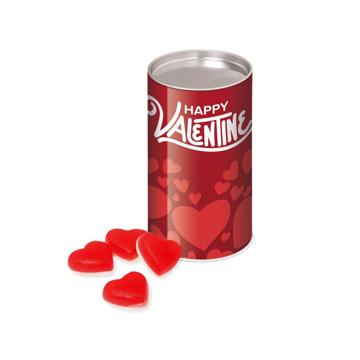 tube of haribo heart shaped sweets