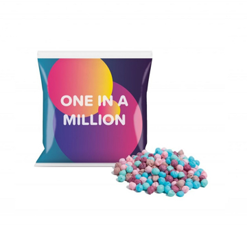 millions sweets in flow bag